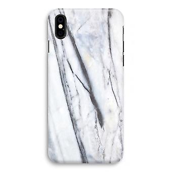 Iphoneskal X Full Print - randig marmor