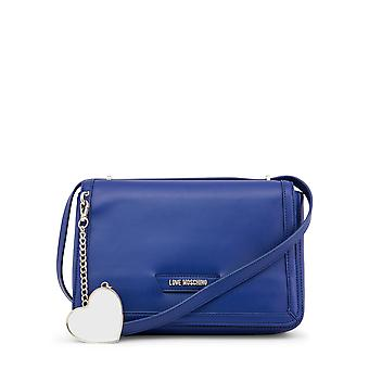 Love Moschino Women Crossbody Bags Blue