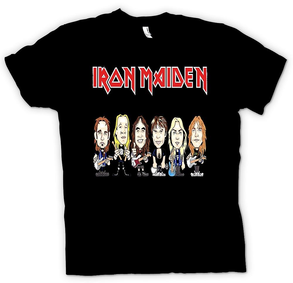 Kids T-shirt - Iron Maiden - Cartoon Band
