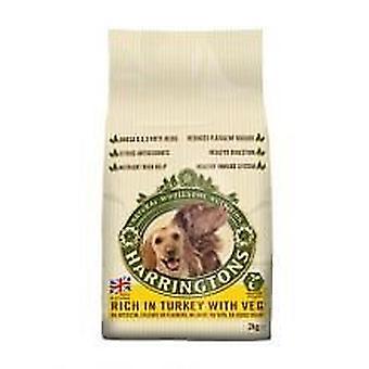 Harringtons hund tørfoder Tyrkiet & Veg 2kg