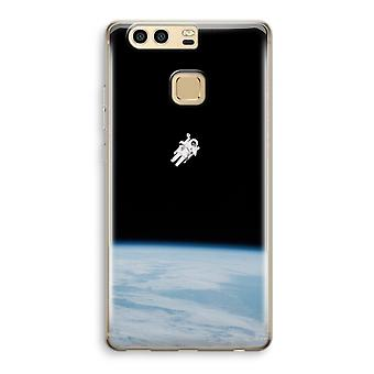 Huawei P9 Transparent Case (Soft) - Alone in Space