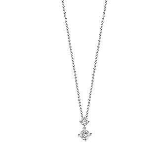 ESPRIT women's kedja halsband silver cubic zirconia svelte glitter ESNL92460A400