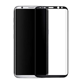 Premie van 0.3 mm gebogen getemperd glas zwarte film voor Samsung Galaxy S8 plus G955 G955F