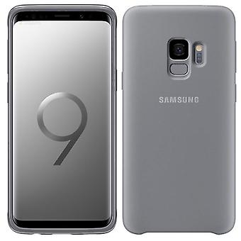 Samsung silicone cover EF PG960TJEGWW for Galaxy S9 G960F bag sleeve case grey