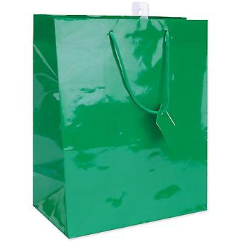 Solid Glossy Gift Bags 10.5