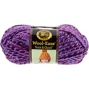 Wool-Ease Thick & Quick Yarn-Grape