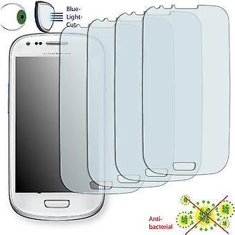 Samsung I8190 Galaxy S3 mini screen protector - Disagu ClearScreen protector (deliberately smaller than the display, as this is arched)