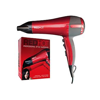 Red Hot Professional Style HairDryer