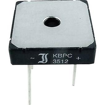 Diotec KBPC10/15/2506WP Diode bridge KBPC 600 V 25 A 1-phase