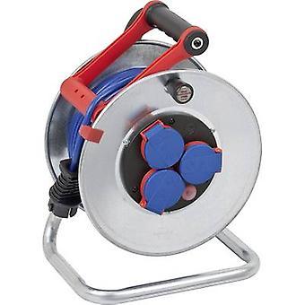 Brennenstuhl 1199850 kabel haspel 25 m blauwe PG plug
