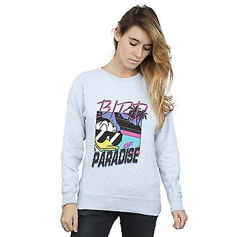 Disney Women's Donald Duck Bird Of Paradise Sweatshirt