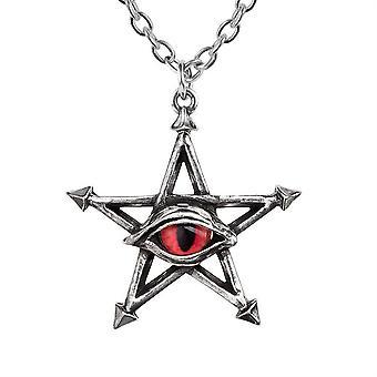 Alchemy Red Curse Pendant