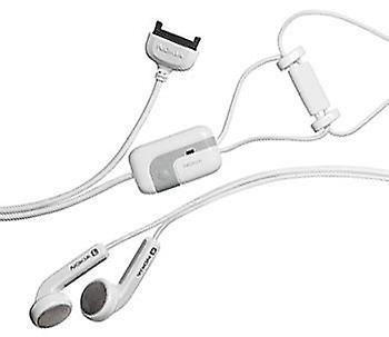 5 Pack -Nokia HS-3 Fashion Stereo Headset for 9500, 9300, 7250i, 7210, 6682, 667