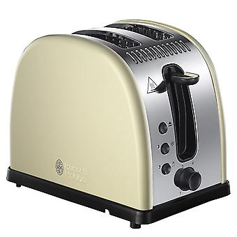 Russell Hobbs 21292 Legacy Cream 2 Slice Toaster - Cream