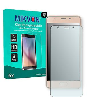 Wiko Ufeel Prime Screen Protector - Mikvon Clear (Retail Package with accessories) (intentionally smaller than the display due to its curved surface)