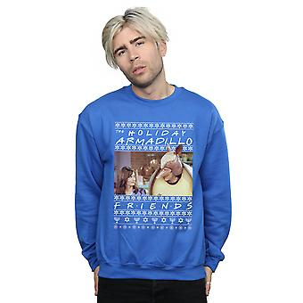 Friends Men's Fair Isle Holiday Armadillo Sweatshirt