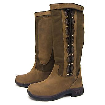 Dublin Pinnacle para mujer botas zapatos impermeabilizan de yarda a pie transpirable