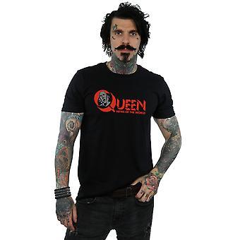 Queen Men's News Of The World Logo T-Shirt