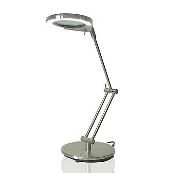 Lamp with magnifying glass table lamp with magnifying glass Nina LED daylight 4,5W 4