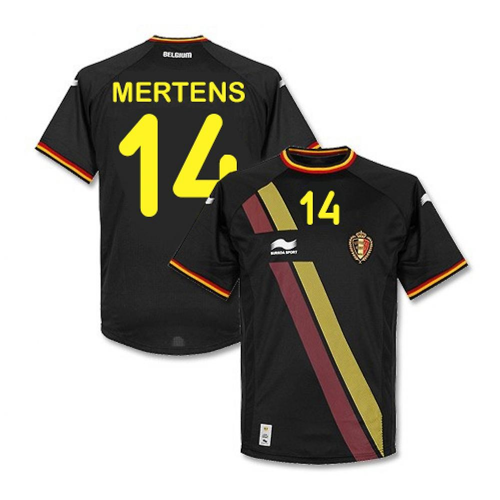 2014-15 Belgium World Cup Away Shirt (Mertens 14)