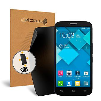 Celicious Privacy Plus 4-Way Anti-Spy Filter Screen Protector Film Compatible with Alcatel Onetouch POP C9