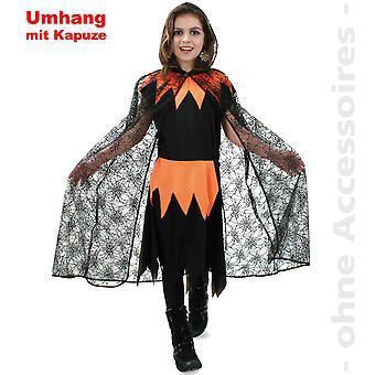 Bruxas fantasias aranha capa capa criança Halloween traje crianças aranha