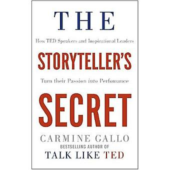 Fortelleren 's Secret - hvordan TED høyttalere og inspirerende ledere