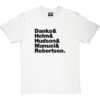 Die Band Line-Up Männer T-Shirt