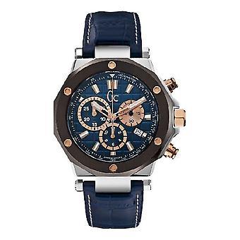 GC przez męskie guess zegarek sportowy kolekcji chic GC - 3 chronograf X72025G7S