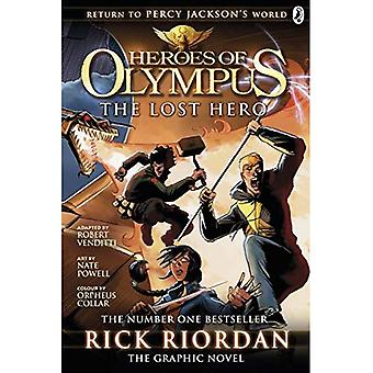 The Lost Hero: The Graphic Novel (Heroes of Olympus Book 1) (Heroes of Olympus Graphic Novels)