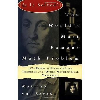 Maailman kuuluisin laskutehtävä: Fermat'n suuri lause ja muut matemaattinen dekkarit