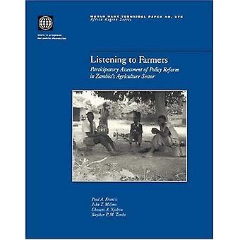 Écouter les agriculteurs: une évaluation participative des politiques de réforme dans le secteur de l'Agriculture de la Zambie