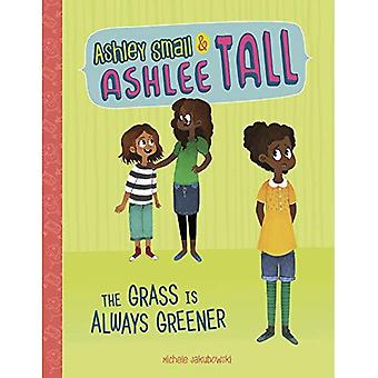 The Grass Is Always Greener (Ashley Small and Ashlee Tall)
