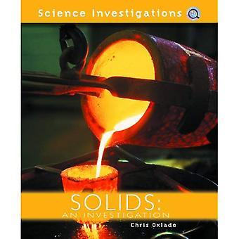 Fasta ämnen: En undersökning (vetenskap utredningar)