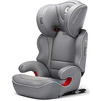 Apramo Ostara Fix Child Car Seat Group 2/3 Steel Grey