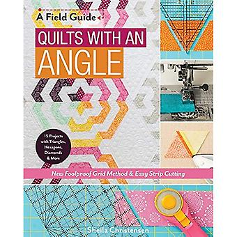 Quilts with an Angle: New Foolproof Grid Method & Easy Strip Cutting; 15 Projects with Triangles, Hexagons, Diamonds & More (Field Guide)