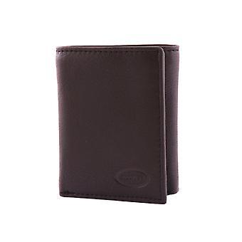 Plånbok läder herr - svart