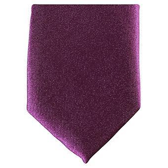 Knightsbridge Neckwear Skinny Tie Polyester - violet