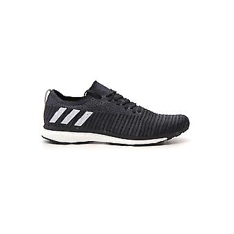 Adidas White/black Synthetic Fibers Sneakers