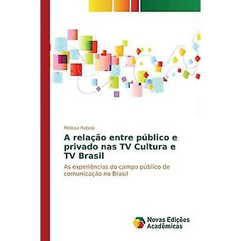 A relao entre pblico e privado nas TV Cultura e TV Brasil by Rabelo Melissa