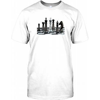 Chess - Check Mate - Cool Design Kids T Shirt