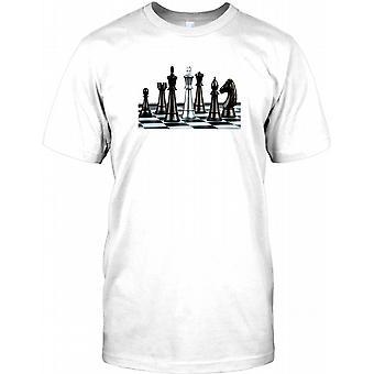 Schach - Check Mate - cooles Design Kinder T Shirt