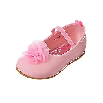 Josmo Baby Girl Mary Jane Booties 2301 Bungee Mary Jane Flats