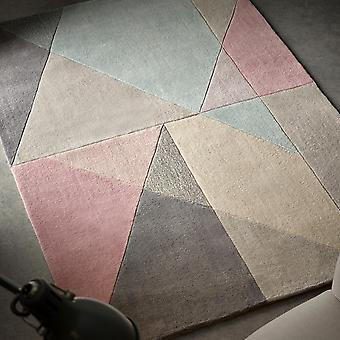 Trio Rugs In Pink & Grey