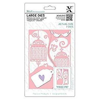 Xcut Large Dies (7pcs) - Ornate Birdcages (XCU 503315)