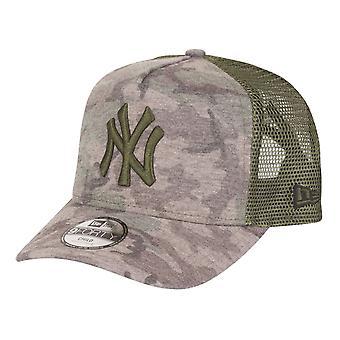 New Era 9Forty Trucker Kids Cap - New York Yankees wood camo