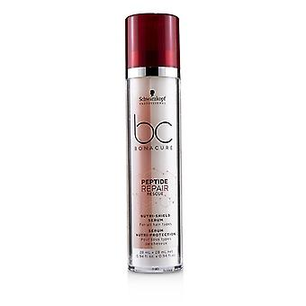 Schwarzkopf Bc Bonacure Peptide Repair Rescue Nutri-shield Serum (for All Hair Types) - 2x28ml/0.94oz