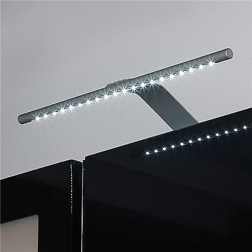 Saxby EL-10078 ängel 2.5W LED skåp ljus i Silver effekt färg