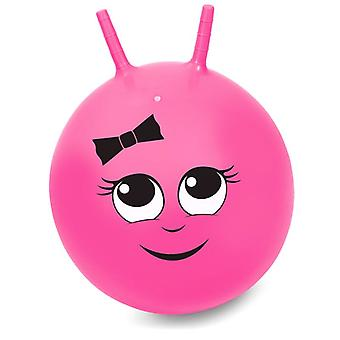 45cm Pink Junior Sally Space Hopper