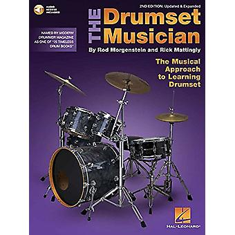 MORGENSTEIN/MATTINGLY THE DRUMSET MUSICIAN 2ND EDITION DRUMS BK/AUD b